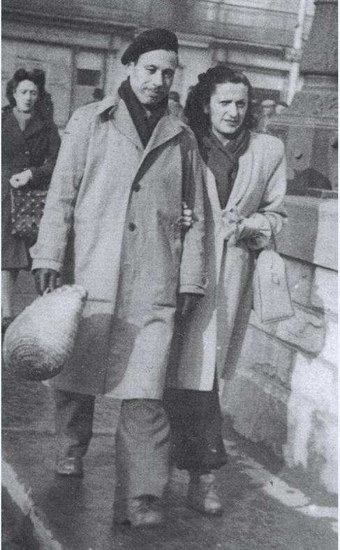 Marí y su esposa