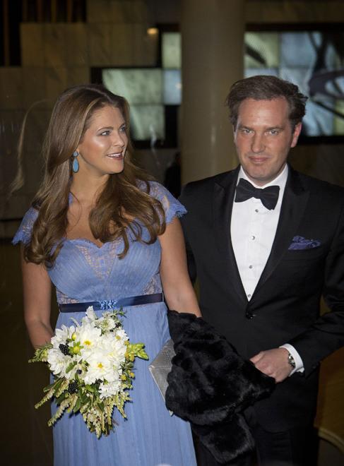Magdalena de Suecia y su marido Chris O'Neill