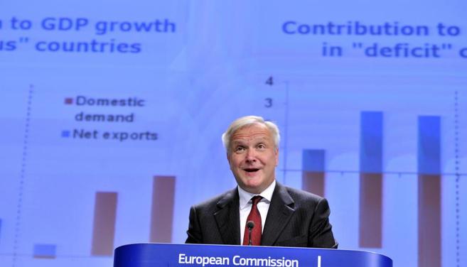 El comisario europeo de Asuntos Económicos, Olli Rehn.