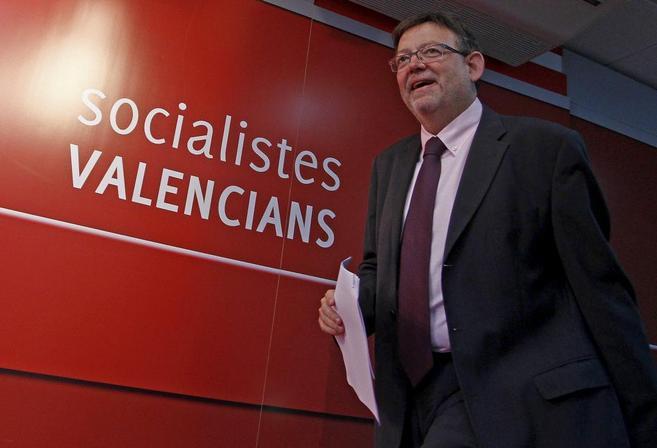 Ximo Puig, secretario general del PSPV, en una imagen de archivo.