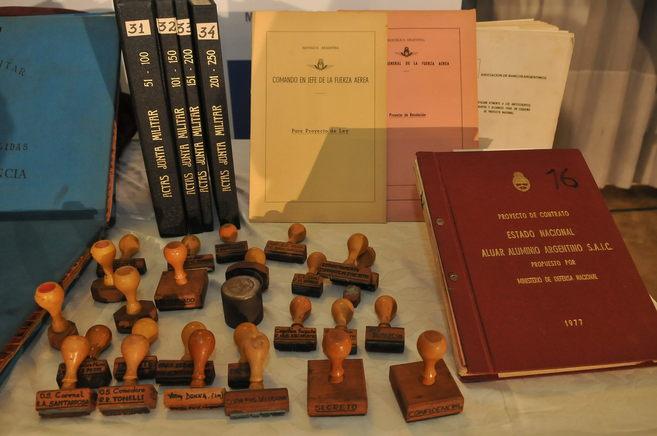 Algunos de los documentos secretos de la dictadura militar argentina...