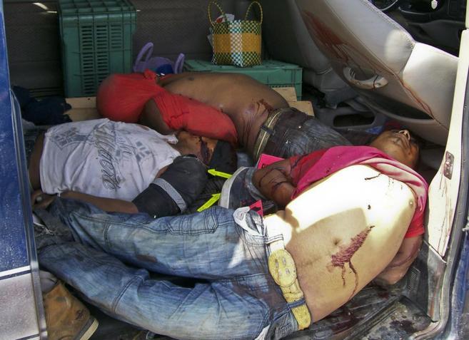 Cinco cadáveres hallados en una furgoneta en La Piedad,  en el estado...