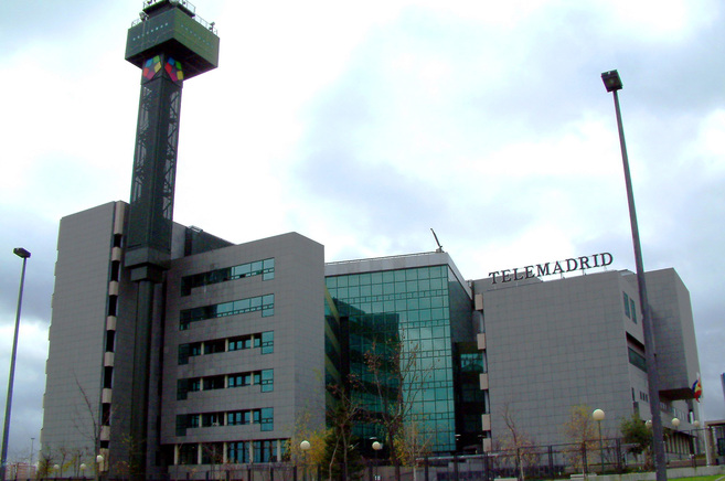 Sede de Telemadrid en la Ciudad de la Imagen.