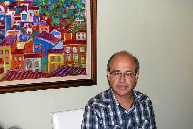 El alcalde de Villena, Francisco Javier Esquembre, de Los Verdes