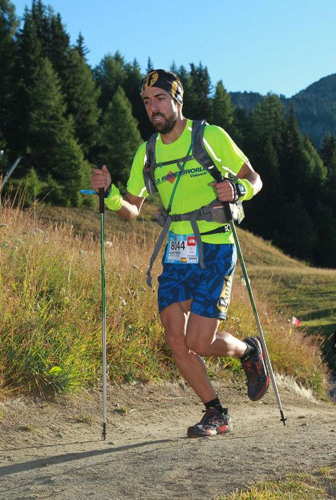 El atleta valenciano Juan María Jiménez.