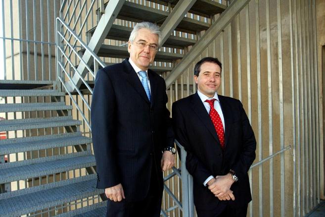Ramón Térmens y Ángel Ruidalbás
