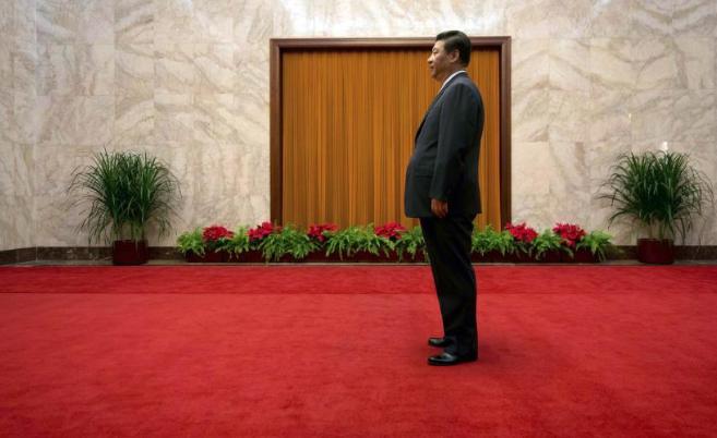 El secretario general del Partido Comunista Chino, Xi Jinping, en el...