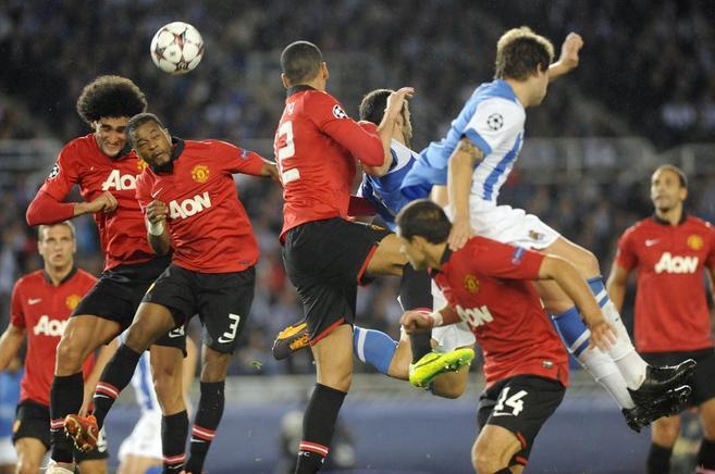 Partido de 'Champions' entre la Real Sociedad y el...