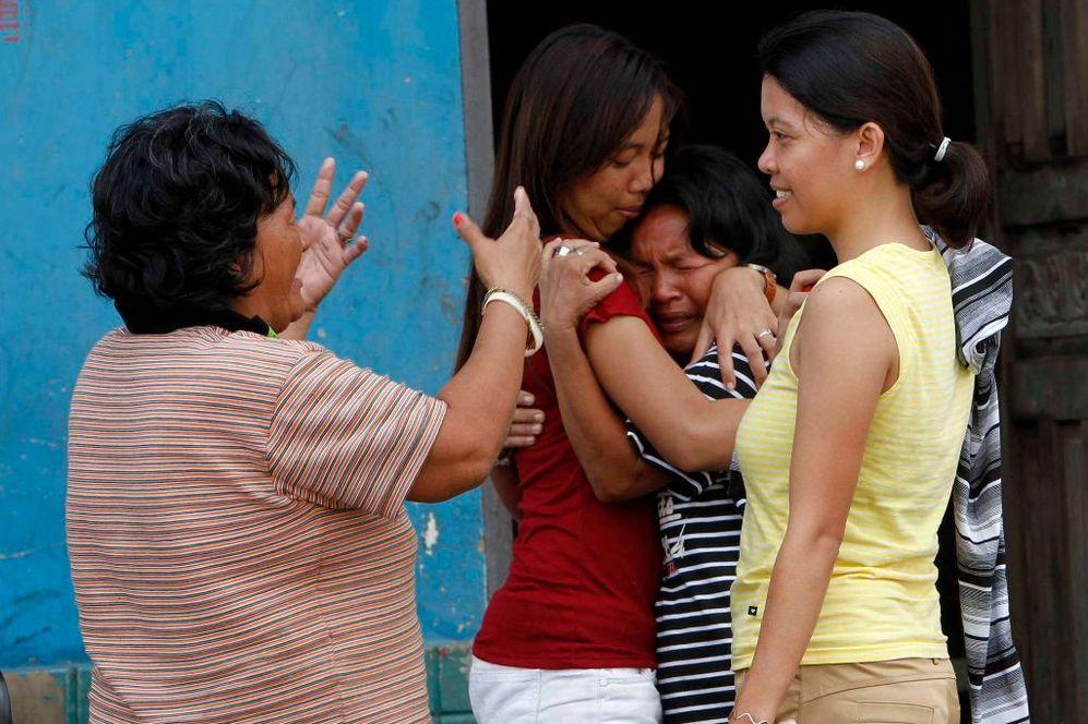 Filipinas lloran tras la catástrofe.
