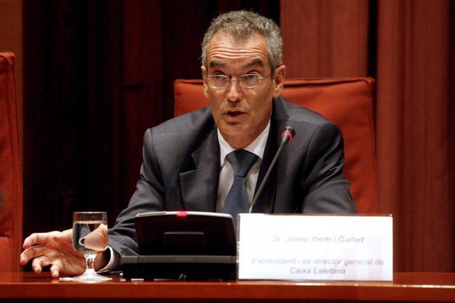 Josep Ibern, en su comparecencia parlamentaria
