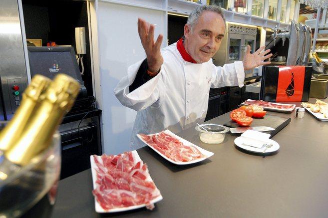 El reputado cocinero Ferran Adrià.