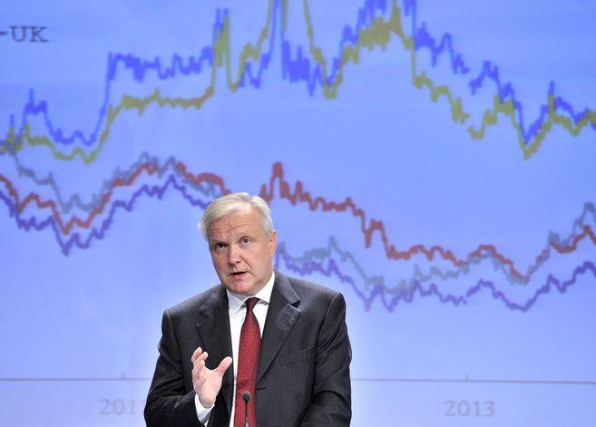 El comisario europeo de Asuntos Económicos, Olli Rehn