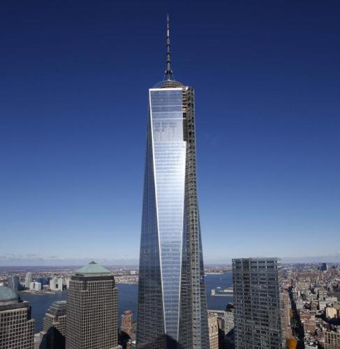 El rascacielos del World Trade Center
