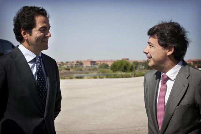El consejero de Transportes, Infraestructuras y Vivienda, Pablo...