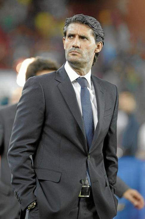 José Luis Pérez Caminero, este agosto en el Camp Nou.
