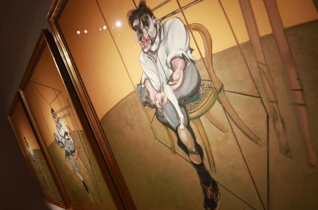 Tríptico 'Tres estudios de Lucien Freud', de Francis Bacon