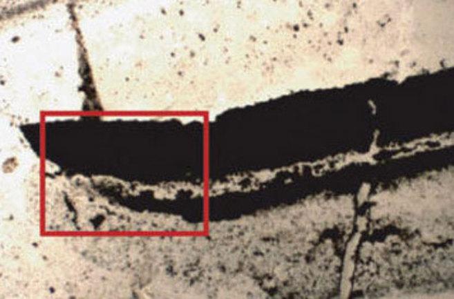 Estructuras sedimentarias encontradas Dresser Formation.