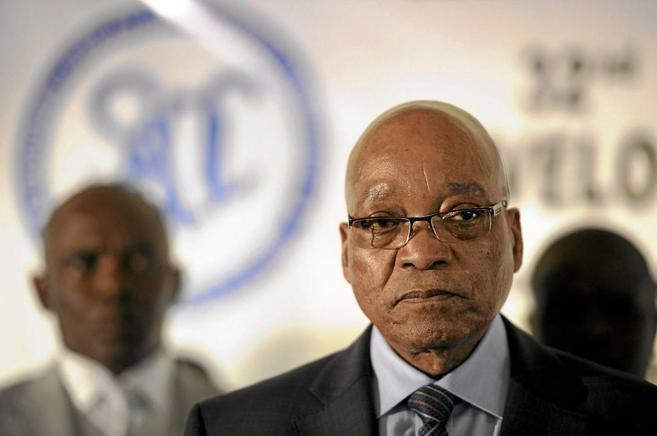 El presidente de Sudáfrica, Jacob Zuma.