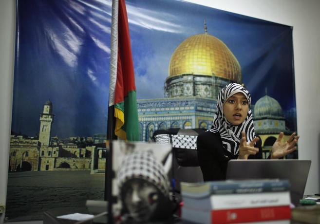Modallal, en su despacho de Gaza.