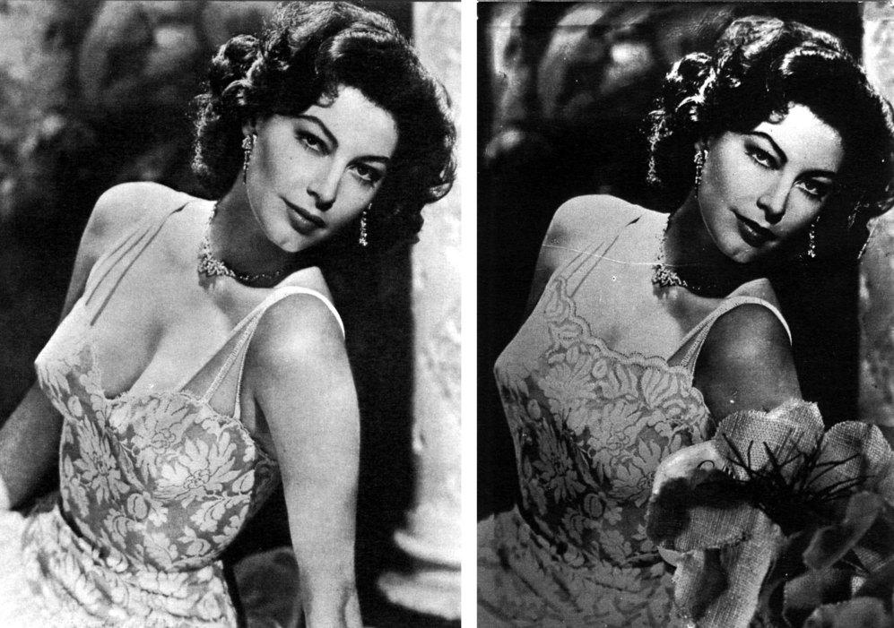 El escote de Ava Gardner en los años 50 resultó intolerable para la...