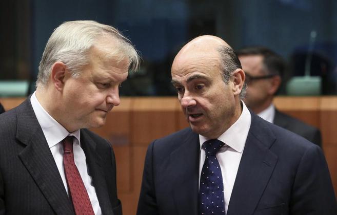 Olli Rehn Luis de Guindos