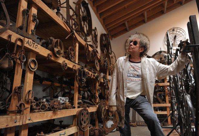 Bob Dylan, en las vísperas de su estreno en la Halcyon Gallery.