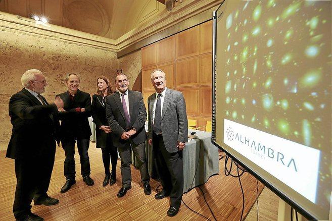 Los responsalbles del proyecto 'Alhambra', en su...