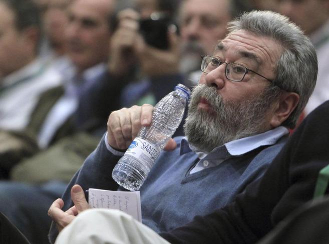 Cándido Méndez, durante el 8º Congreso de la Unión de Pequeños...