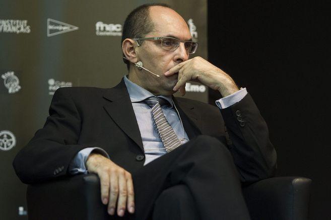 El juez Elpidio Silva en un encuentro.