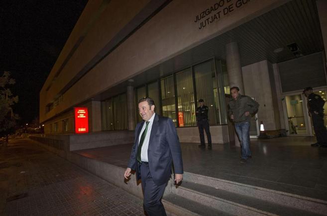 El diputado del PP y ex conseller valenciano, Gerardo Camps, a la...