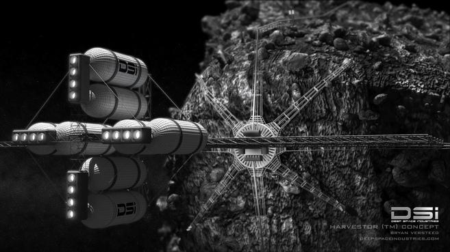 Recreación del proyecto 'Harvestor': una sonda robótica...