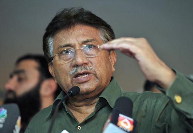 Musharraf, en marzo de este año durante una rueda de prensa en Dubai,...