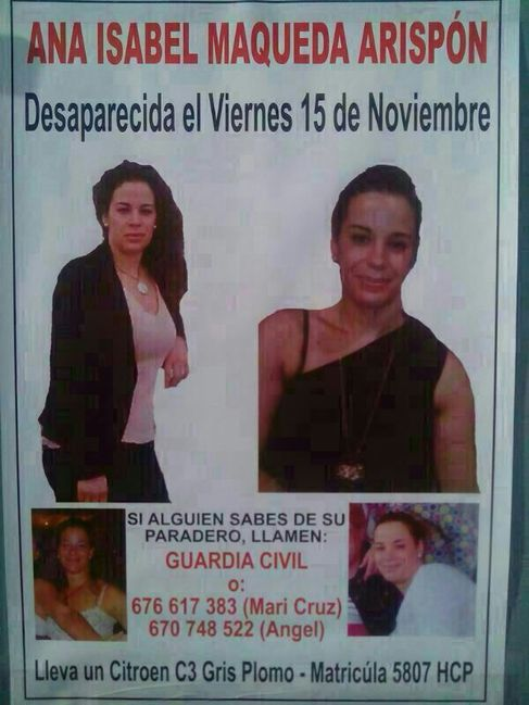 Cartel difundido por la Policía Local de Marchena.