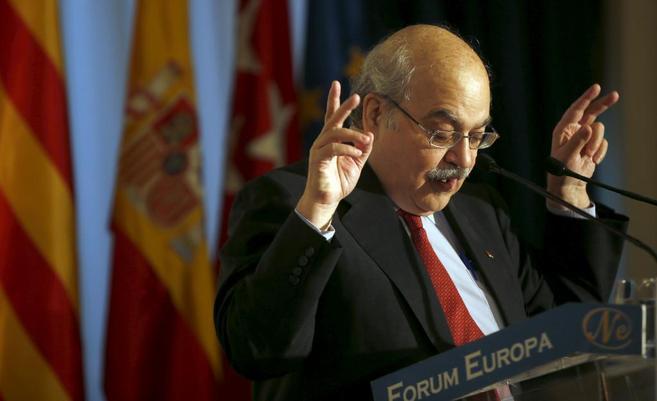 El Conseller de Economia Andreu Mas-Colell