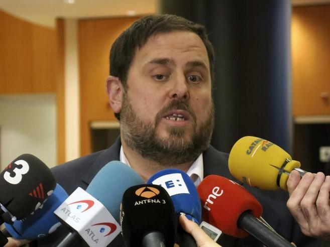 El presidente de Esquerra Republicana, Oriol Junqueras