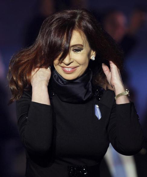 Cristina Kirchner, en un acto celebrado en mayo de 2013.