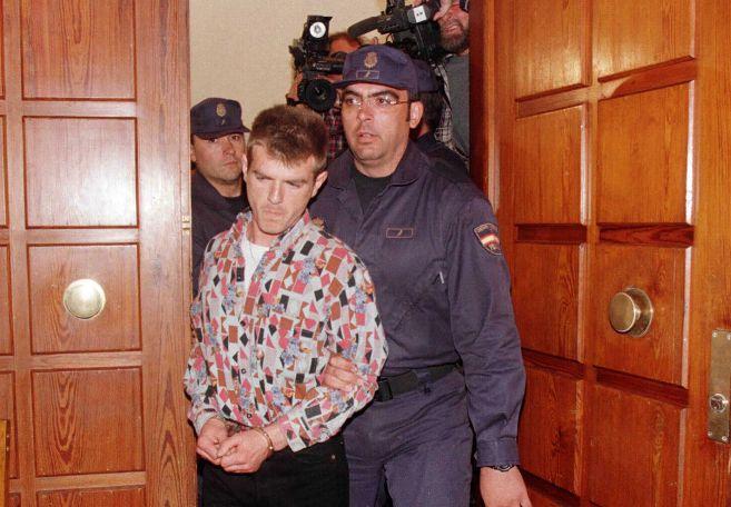 Miguel Ricart, durante el juicio por los crímenes de Alcàsser.