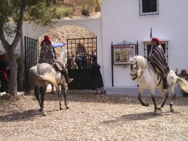 Una de las actividades incluidas en la ruta dedicada al bandolero...