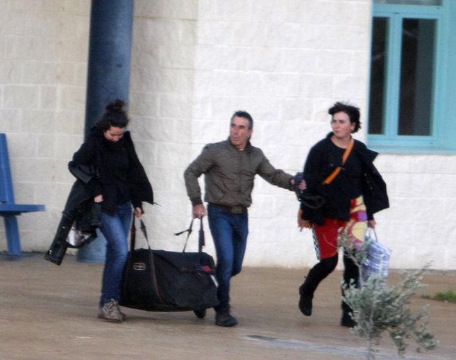 Legorburu, saliendo de la prisión de Castellón II; este miércoles...