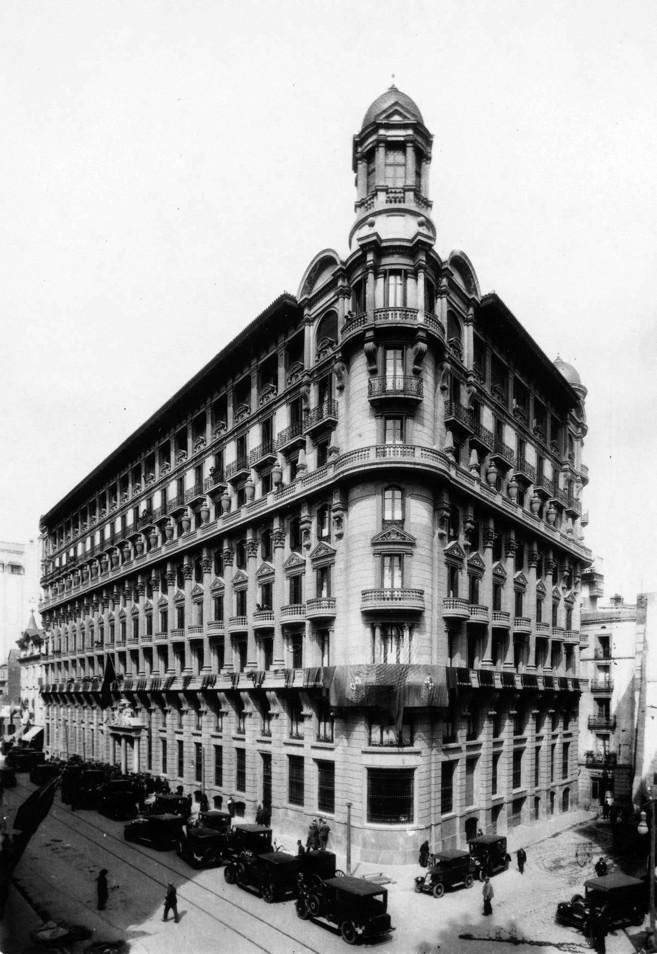 Edificio de Via Laietana inspirado en el 'Chicago Style'