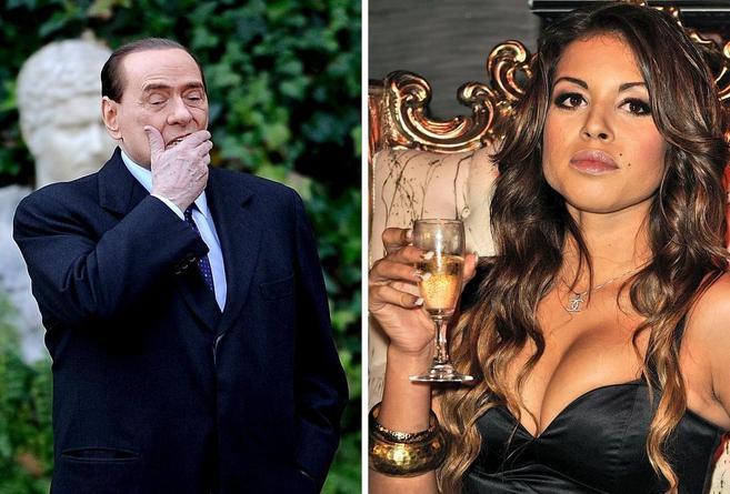 Silvio Berlusconi y 'Ruby Robacorazones'-