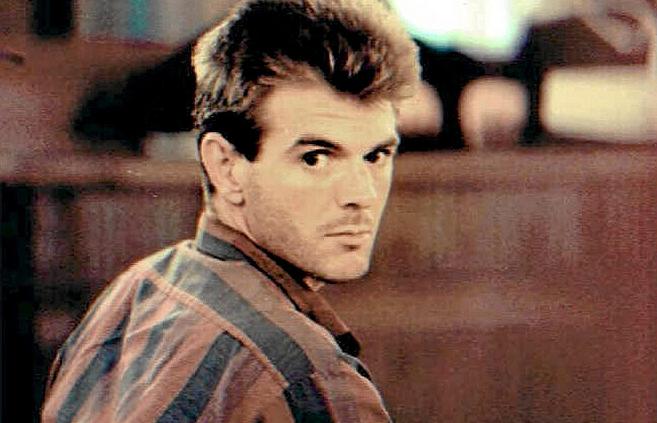 El único condenado por el crimen de Alcàsser, Miguel Ricart, durante...