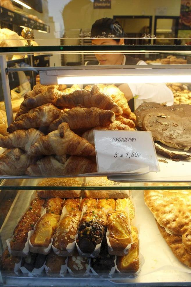 Escaparate de la panadería Granier, que ha entrado con fuerza en...