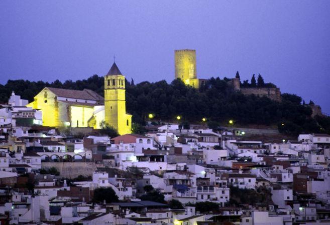 Vista panorámica del centro de Vélez-Málaga