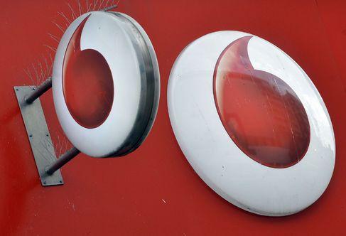 Logos de Vodafone.