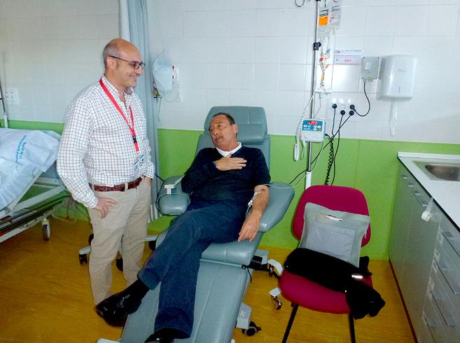 José Luis, afectado por mieloma múltiple, participa en un ensayo...