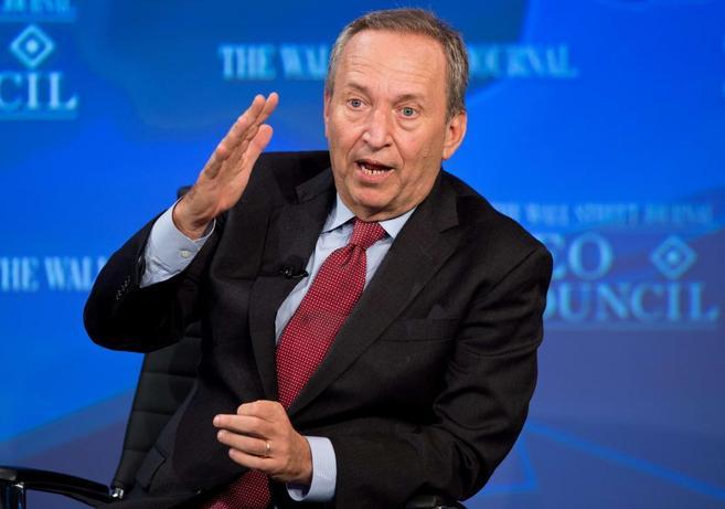 El ex secretario del Tesoro de EEUU, Larry Summers, en un acto en...