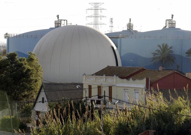 La estación depuradora de Pinedo, en Valencia, epicentro del caso...