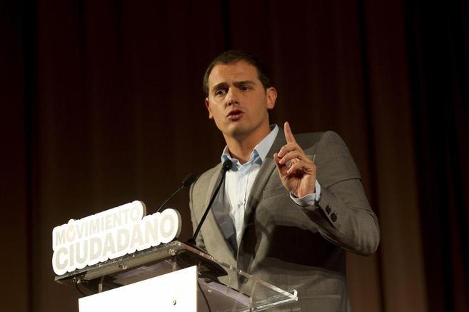 Albert Rivera presenta Movimiento Ciudadano en Barcelona