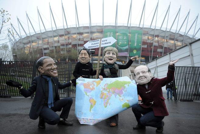 Protesta contra la inacción política en la Cumbre del Clima de...